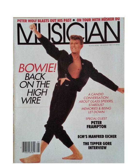 DAVID BOWIE Interview 1987 Musician by PopcornVintageByTann