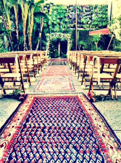 Persian Aisle - maybe for my walk down the aisle?