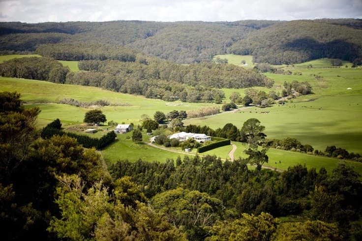 Aire Valley Restaurant and Guest House overlooking the Aire River Wildlife Reserve on the Great Ocean Road.