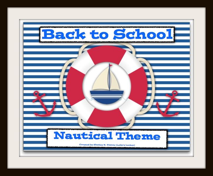 $ Chart your course and sail into the new school year with this exciting Back to School, Nautical Theme Super Pack.  The 108 page file has EVERYTHING you need to make a wonderful splash into a successful school year!  From decorating and organizing your room, to planning a successful Open House, and exciting first week activities and materials. Includes link to editable forms.