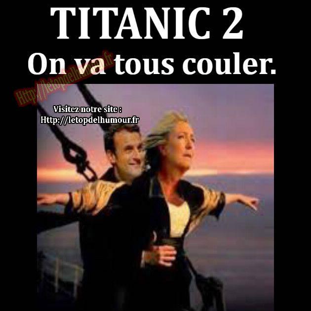 Titanic 2..On va tous couler.