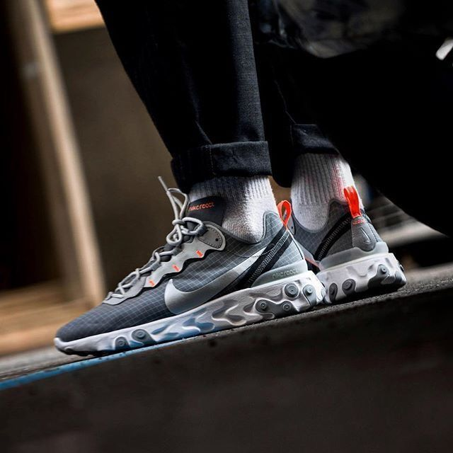 Nike React Element 55 | Chaussure basket homme, Chaussure sport ...
