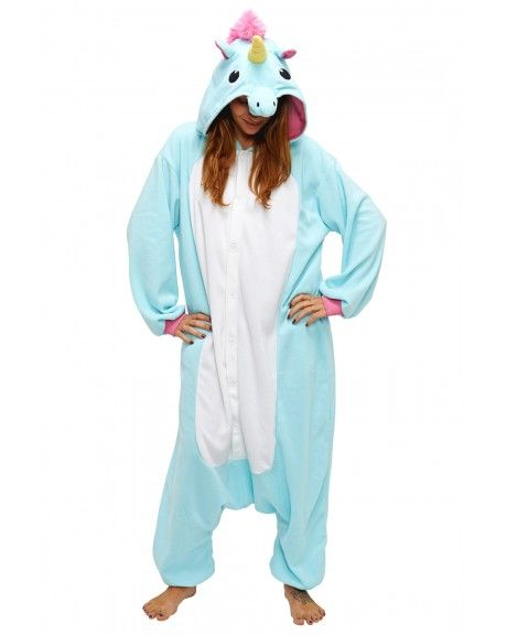 Blue Unicorn Onesies