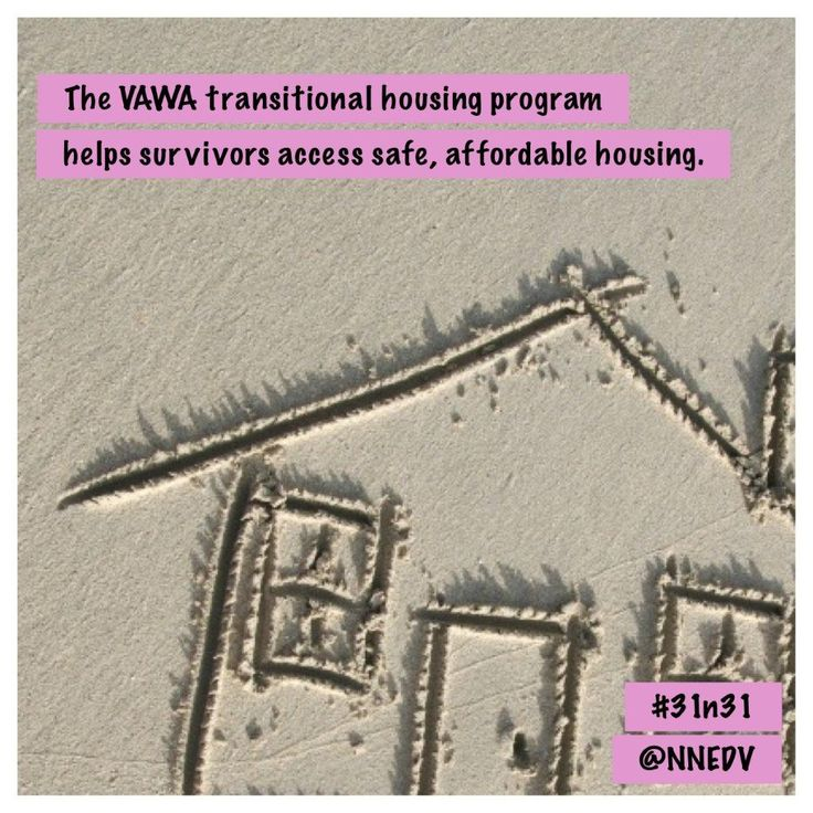 23. Survivors identify housing as one of their greatest needs. The #VAWA transitional housing program helps survivors access safe, affordable housing as they rebuild their lives. #31n31 #DVAM