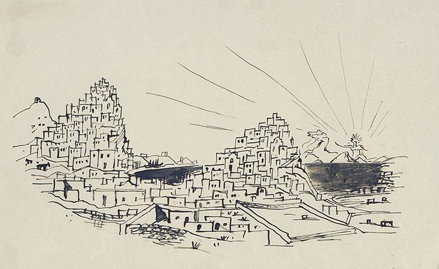 Dimitris Pikionis, Imaginary Themes (1930-1950)