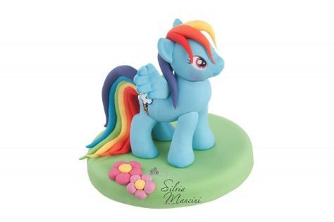 DIY Rainbow Dash (My Little Pony) Tutorial for Fondant or Sugarpaste