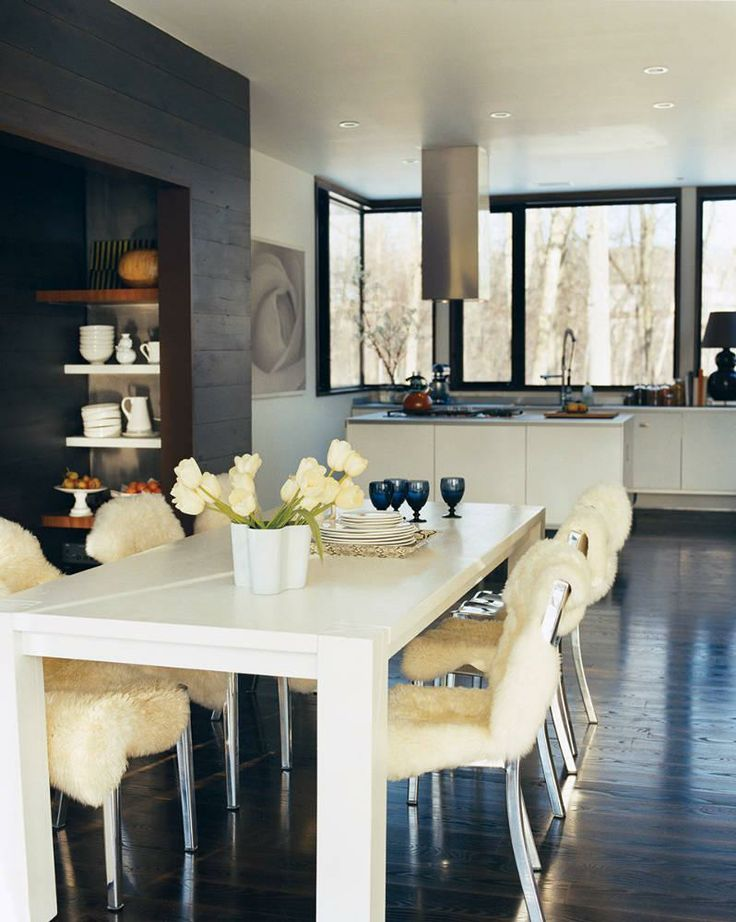 modernism fit for a family Modern Dining