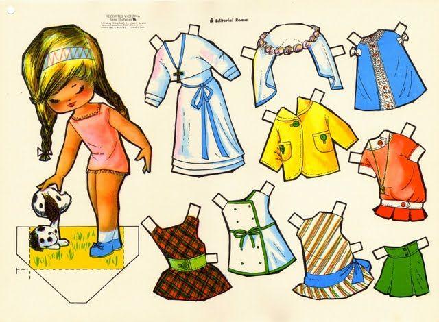 victoria recortables paper doll | Manualidades Mussola • Ver Tema - RECORTABLES ANTIGUOS