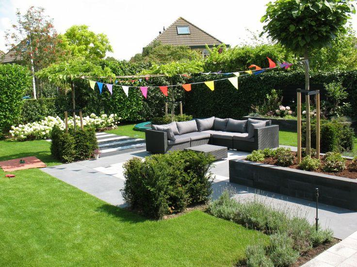 Moderne, kindvriendelijke tuin Middelburg - Hoveniersbedrijf Tim Kok