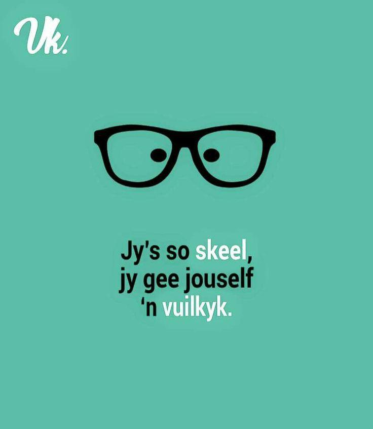 #glasses #learnafrikaans #afrikaansexpressions #slimvis