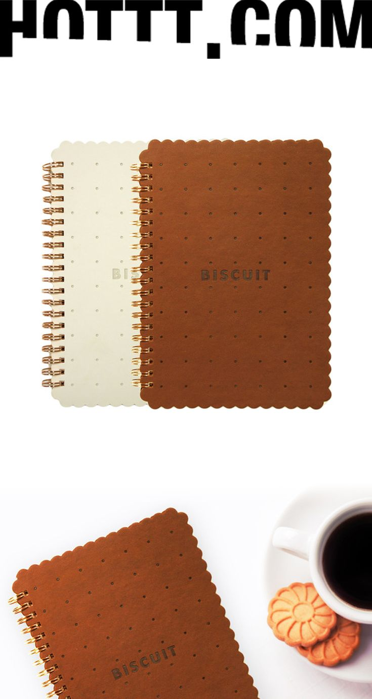 Biscuit Notebooks | Unique stationery | Uncommon Gifts | HOTTT.COM