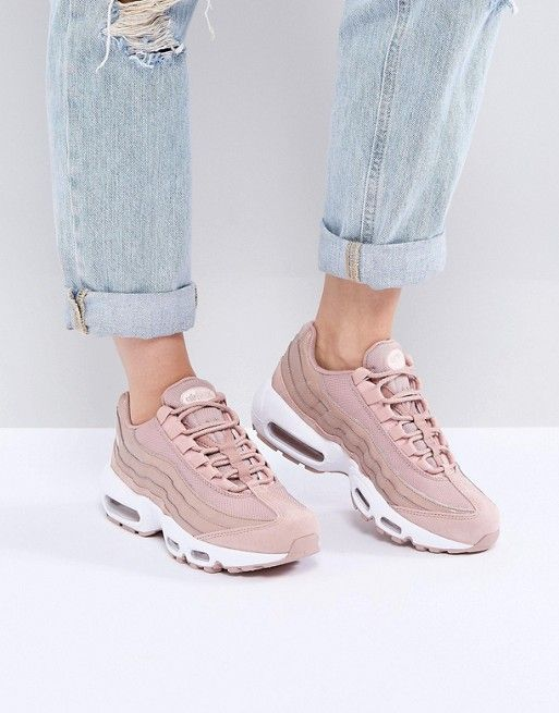 newest 6d174 d1329 Nike  Nike Air Max 95 Trainers In Pink