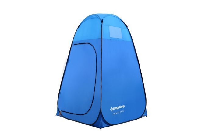 Portable Toilets For Camping Tent Beach Shower Room Popup Outdoor Changing Tent #KingCamp #Dome