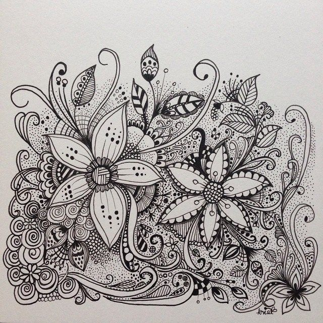 Kc doodle art flowers pinterest doodle art doodles for Designs for doodle art