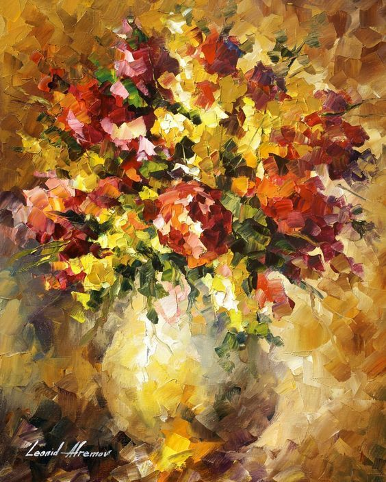 FLOWERS OF ILLUSIONS - Original Pintura al óleo sobre lienzo por Leonid Afremov http://afremov.com/FLOWERS-OF-ILLUSIONS-Original-Oil-Painting-On-Canvas-By-Leonid-Afremov-16-x20-40cm-x-50cm.html?utm_source=s-v-es-pin&utm_medium=/s-v-es-pin&utm_campaign=ADD-YOUR
