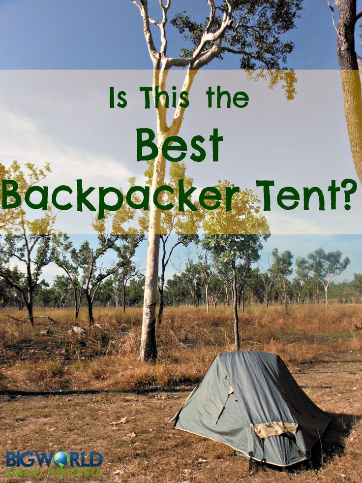 Is this the Best Backpacker Tent {Big World Small Pockets}