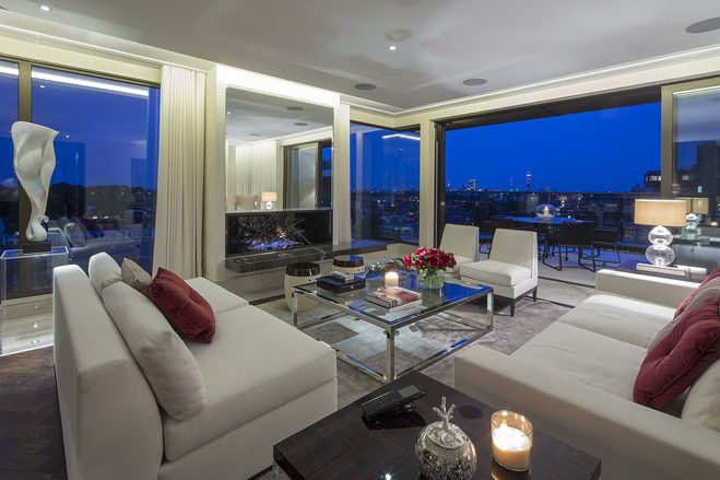 London Luxury Penthouse Luxury Penthouse Penthouses And