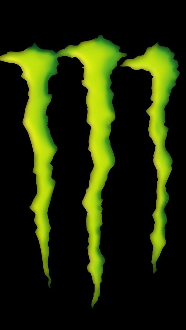 iPhone 5 Wallpapers (Monster Energy Drink Logo in 3D Wallpaper for...)