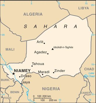 10/26/2017 NIGER: The World Factbook.  Central Intelligence Agency.