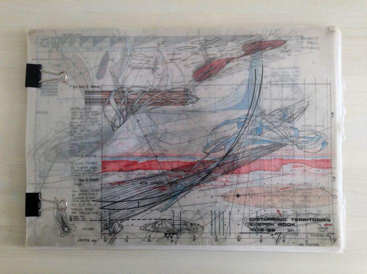the disturbing territories sketchbook