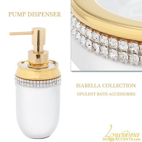 Bathroom Accessories With Swarovski Crystals 12 best swarovski crystal luxury bathroom accessories images on
