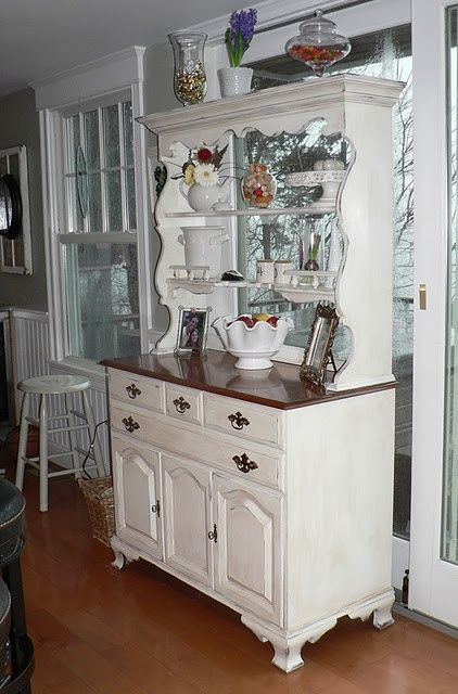 17 Best Ideas About Refurbished Hutch On Pinterest