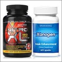 Xanogen and Nitro XL supplements ensure to  maintain the Nitric Oxide and testosterone levels in the body.  Nitro XL is available on a Risk Free Trial Basis. Under this Risk Free Trial Offer all that you need to pay is for the shipping charges. You will get Free bottles on selected package with Xanogen.