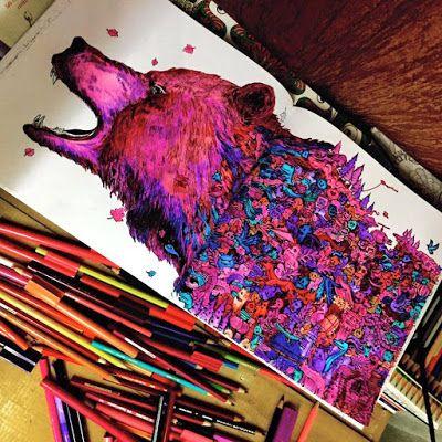 Animorphia By Kerby Rosanes Rawr Loving How This Turned
