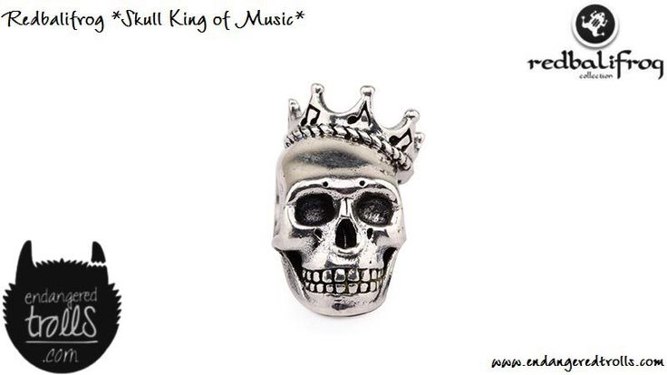 Redbalifrog Skull King of Music