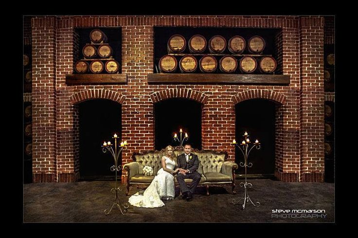 A winery wedding. Stunning.