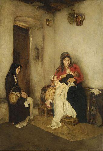 Nikolaos Gyzis | the step mother.