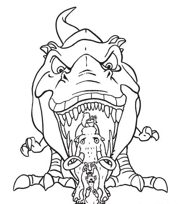 18 best ice age coloring pages images on pinterest ice age coloring sheets and coloring books. Black Bedroom Furniture Sets. Home Design Ideas