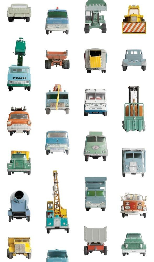 Behang Werkauto   Kidsworld XXL