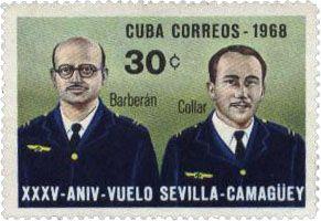 Mariano Barberán 1895-1933 Joaquín Collar Serra 1906-1933 Fueron militares españoles. Visitaron Cuba en 1933.