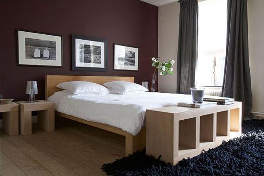 Un lit chic et naturel http www m - Quelle couleur pour une chambre d adulte ...