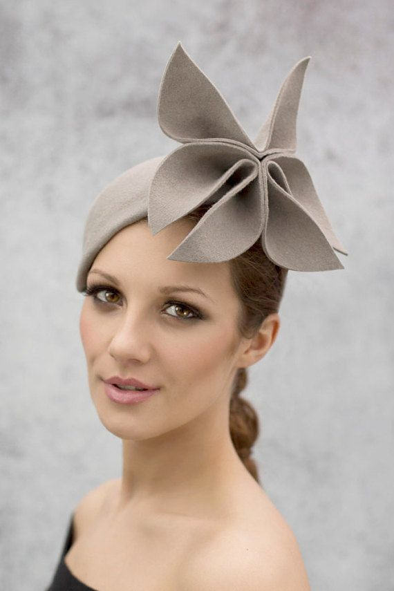 Hey, I found this really awesome Etsy listing at https://www.etsy.com/listing/181038778/flower-races-hat-womens-fascinator-hat
