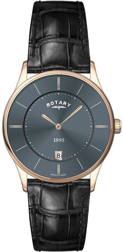 Rotary Watch Ultra Slim Gents #add-content #bezel-fixed #bracelet-strap-leather #brand-rotary #case-depth-5mm #case-material-rose-gold #case-width-36mm #classic #date-yes #delivery-timescale-1-2-weeks #dial-colour-grey #gender-mens #movement-quartz-battery #official-stockist-for-rotary-watches #packaging-rotary-watch-packaging #style-dress #subcat-rotary-ultra-slim #supplier-model-no-gs08204-20 #warranty-rotary-official-lifetime-guarantee #water-resistant-waterproof