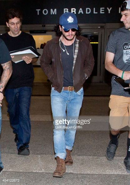 Kit Harington seen at LAX on August 24, 2014 in Los Angeles,... News Photo | Getty Images