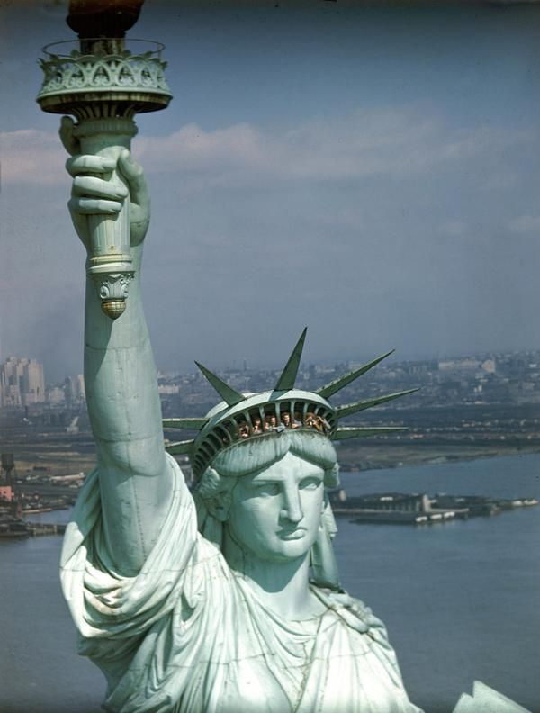 Famous History on Statue of liberty, Statue of liberty