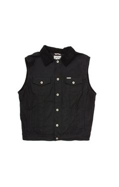 Rambler Vest in Black by Iron & Resin