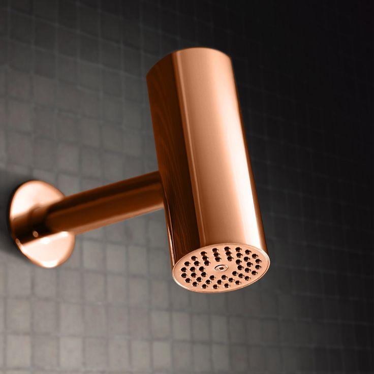 Copper shower head METRO 6 by Lavernia&Cienfuegos for SANICO. www.sanico.es #copper #cobre #cuivre