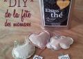 DIY de la fête des mères : des sachets de thé personnalisés