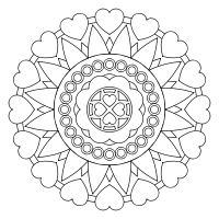 34 Print and color mandalas online