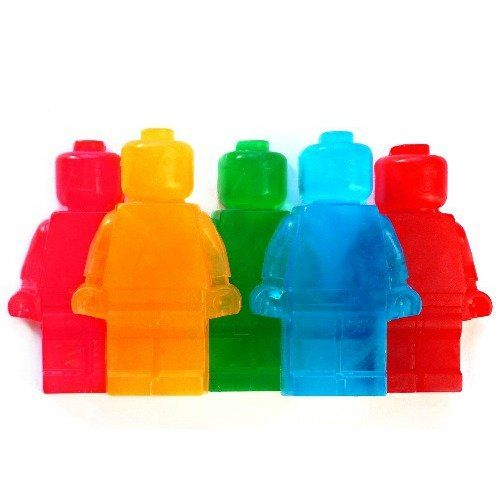 Lego men soap set by Little Trading Co. for sale on http://hellopretty.co.za