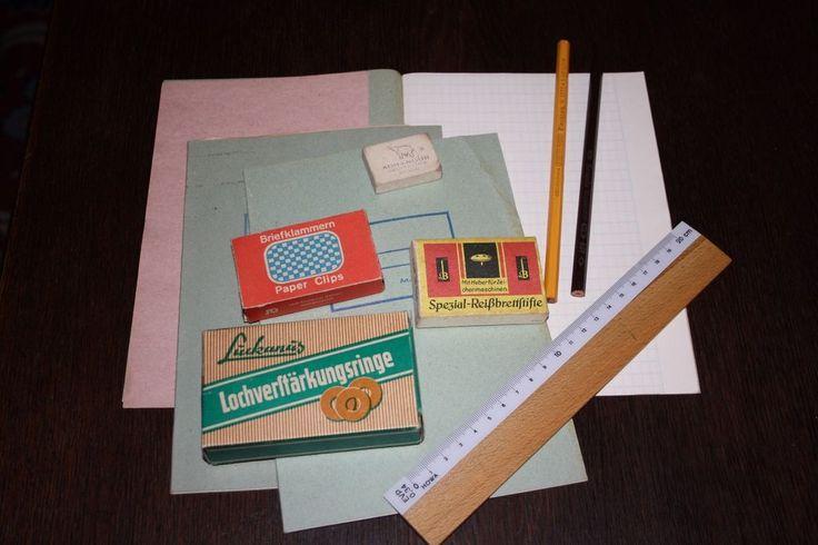 DDR - Schreibwarensortiment