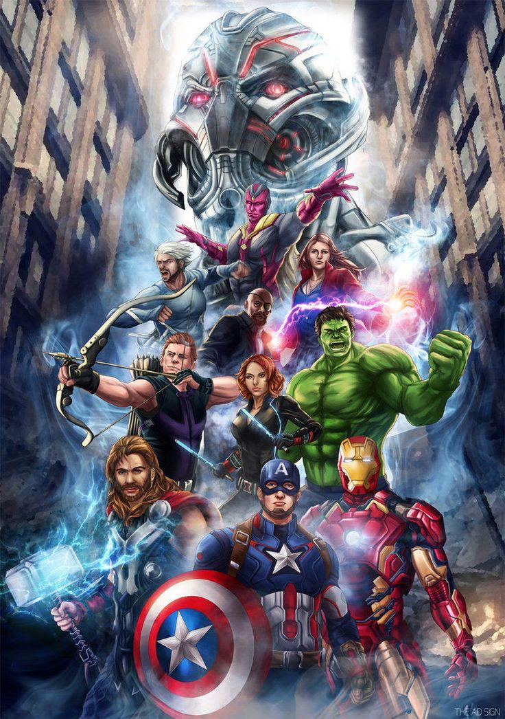 The Avengers: Pin By HERO WORLD! On Avengers.