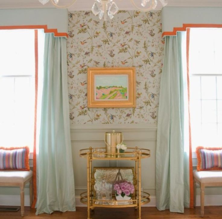 Window Treatments Traditional Dining Room