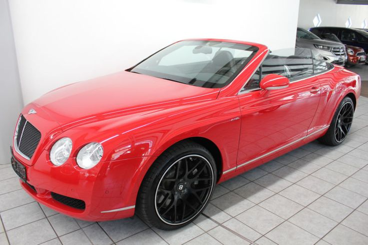 Bentley Continental GTC Massage Luftfed. Kamera als Cabrio/Roadster in Nagold