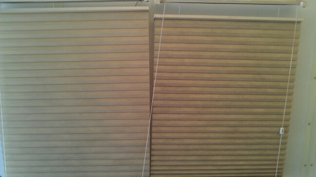 honeycomb shades before and after cleaning we clean blinds pinterest shades honeycomb. Black Bedroom Furniture Sets. Home Design Ideas
