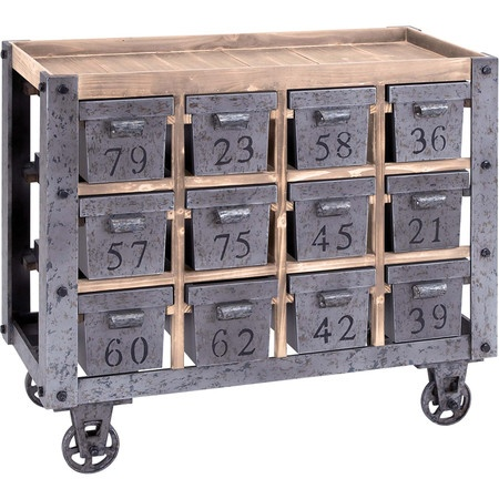 I pinned this Factory Cart from the Handsome Home event at Joss and Main!